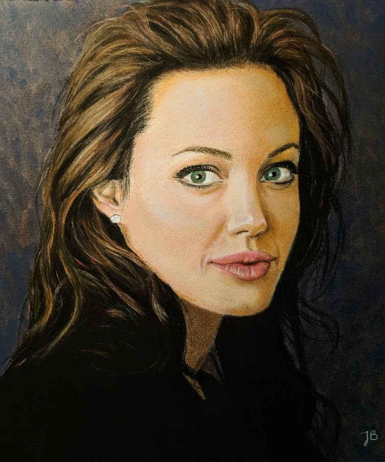 Angelina Jolie by 2tones